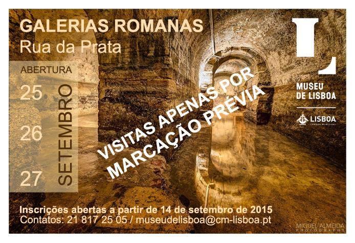 Visite des Galeries Romaines