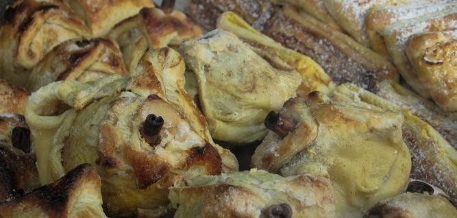 Pommes au four en croûte feuilletée