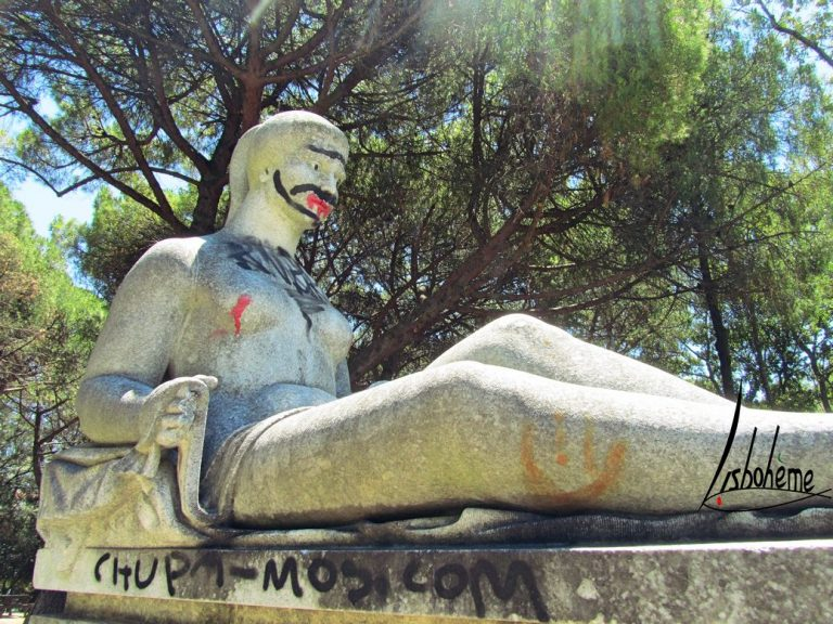 Street art parc Eduardo VII