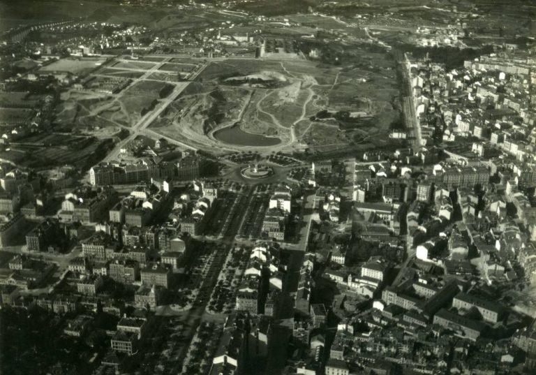 Parc Eduardo VII vers 1930