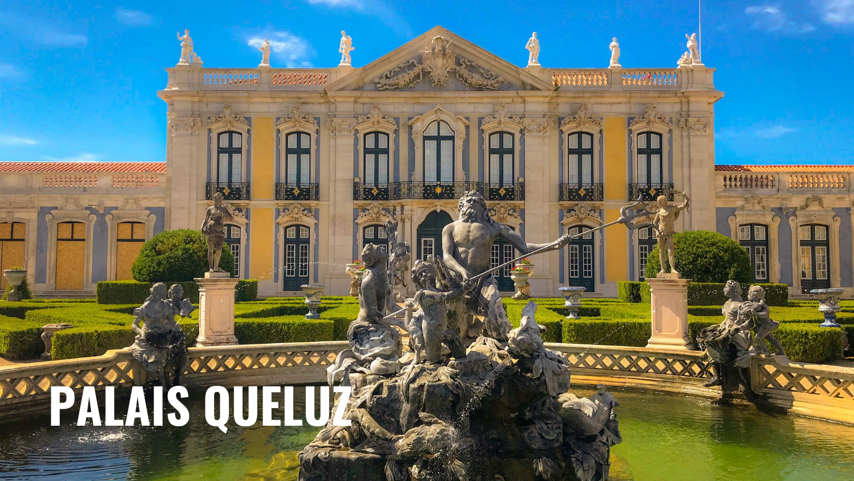 Visiter le flamboyant Palais de Queluz, à 20 min. de Lisbonne