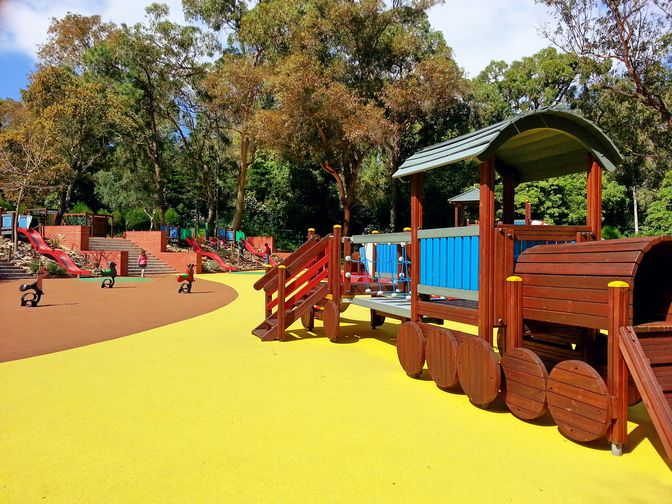 Parc de jeux Alvito - Petit train