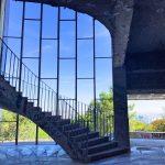 Escalier monumental en spirale
