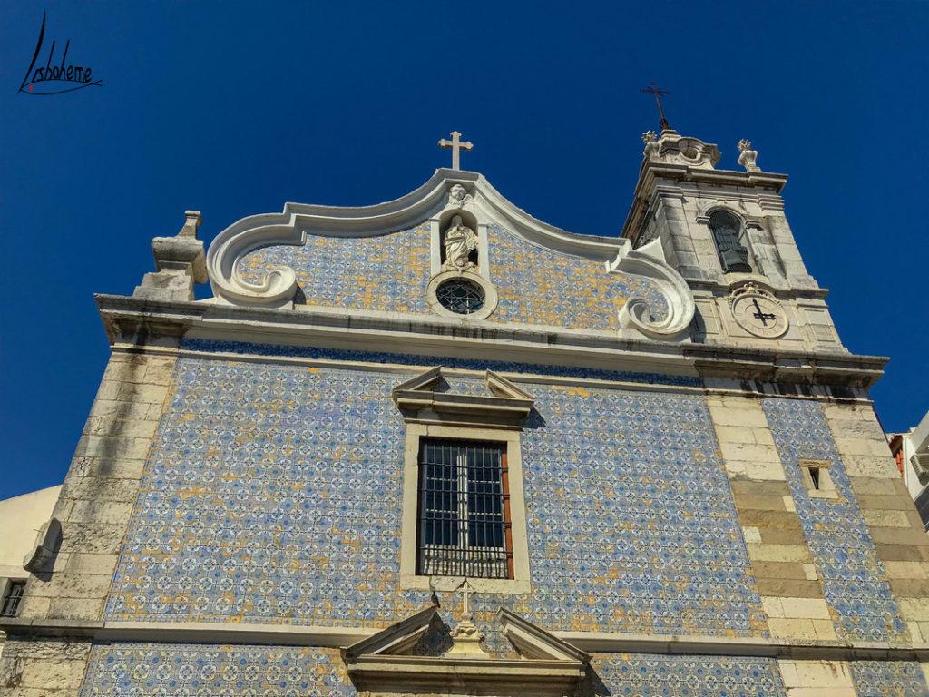 façade église Seixal