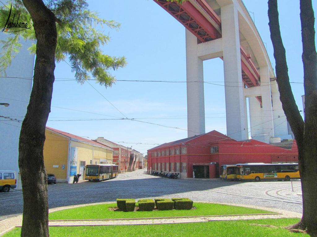 Station Santo Amaro où se trouve le musée Carris.