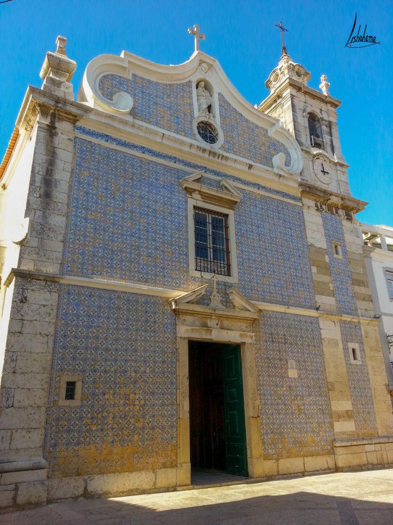 Azulejos église Seixal