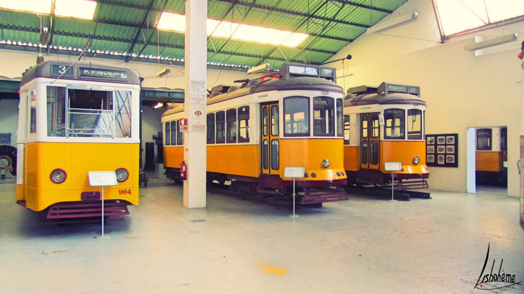 anciens tramways musée carris