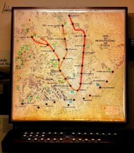 Ancien plan métro musée Carris