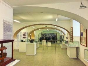 Salle d'exposition du musée Carris