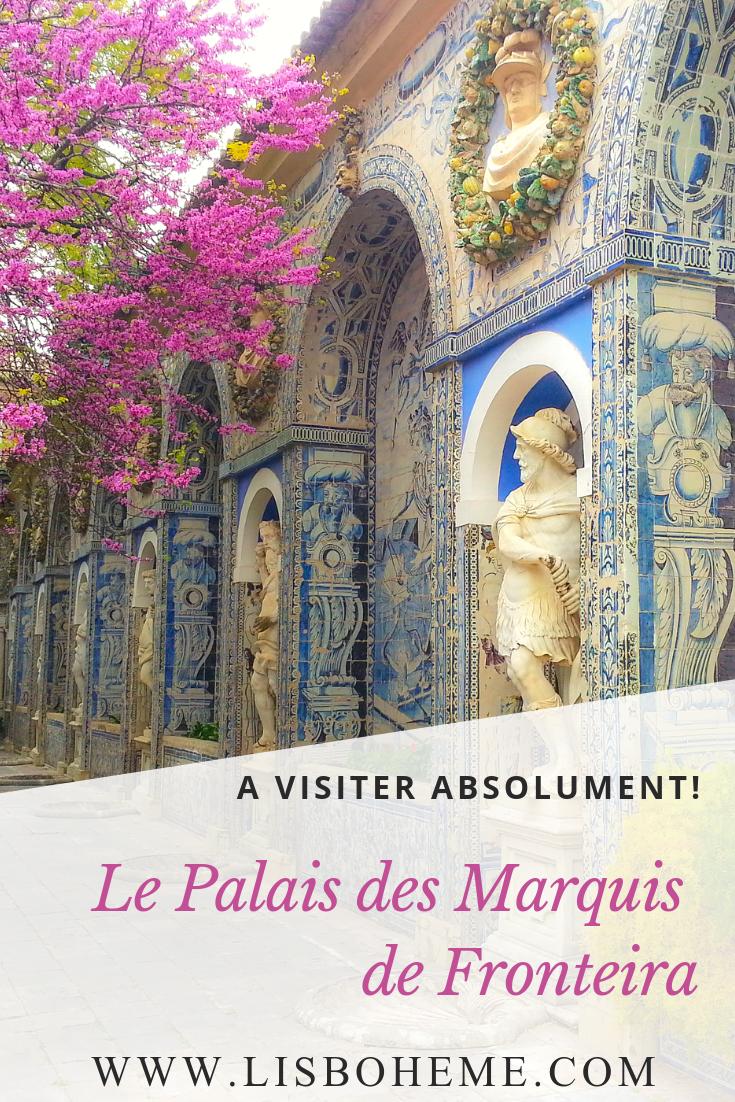 Photo pinterest palais des Marquis de Fronteira