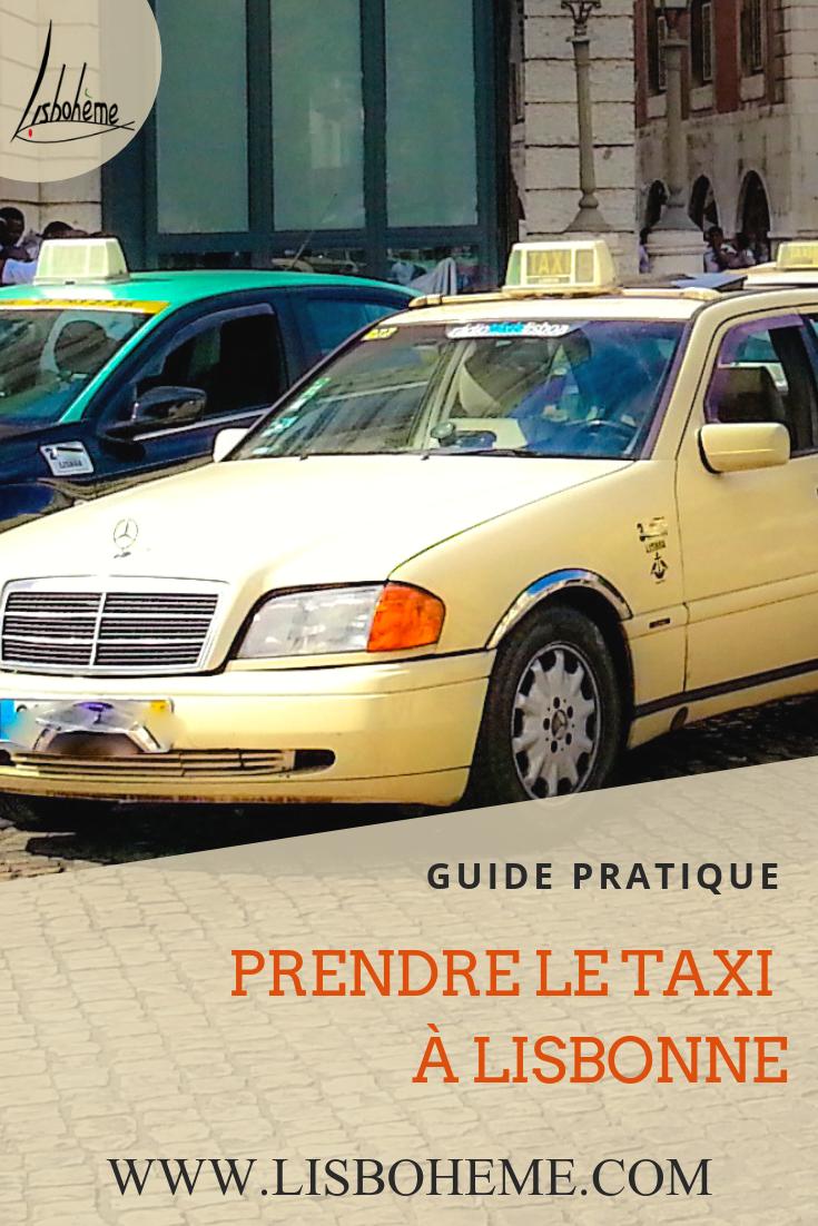 Taxi Lisbonne image pinterest