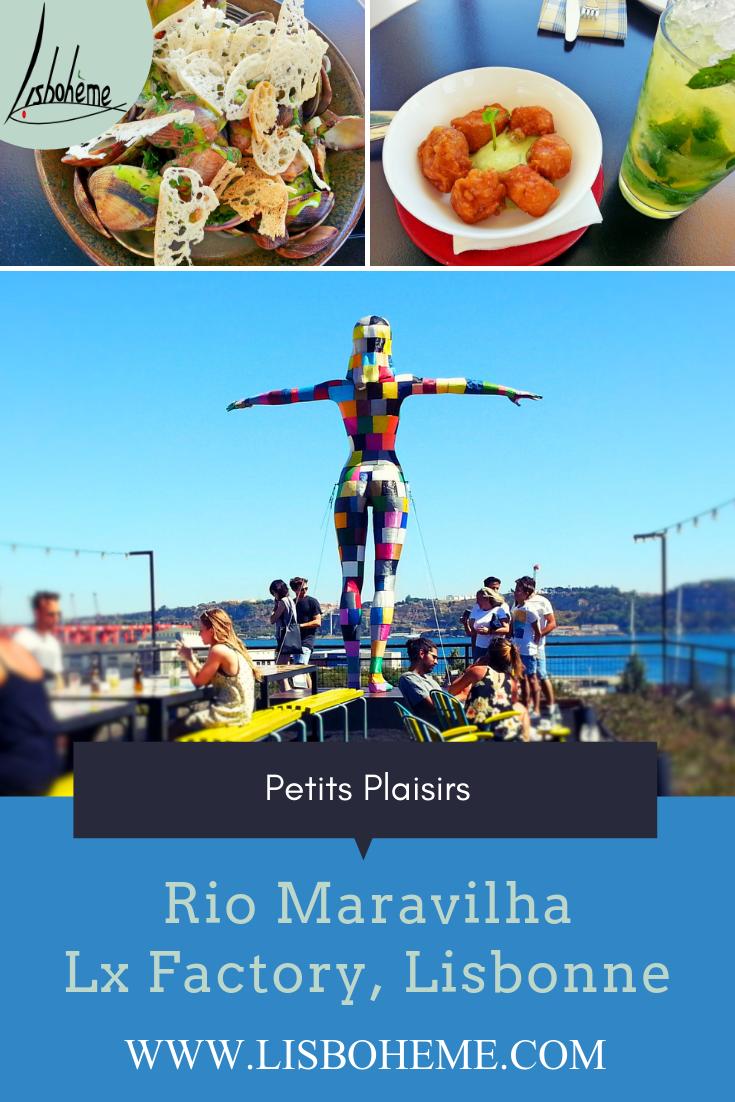 Rio Maravilha à LxFactory à Lisbonne, épingle Pinterest