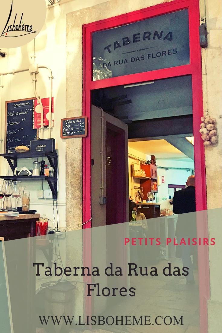 Taberna da rua das Flores à Lisbonne