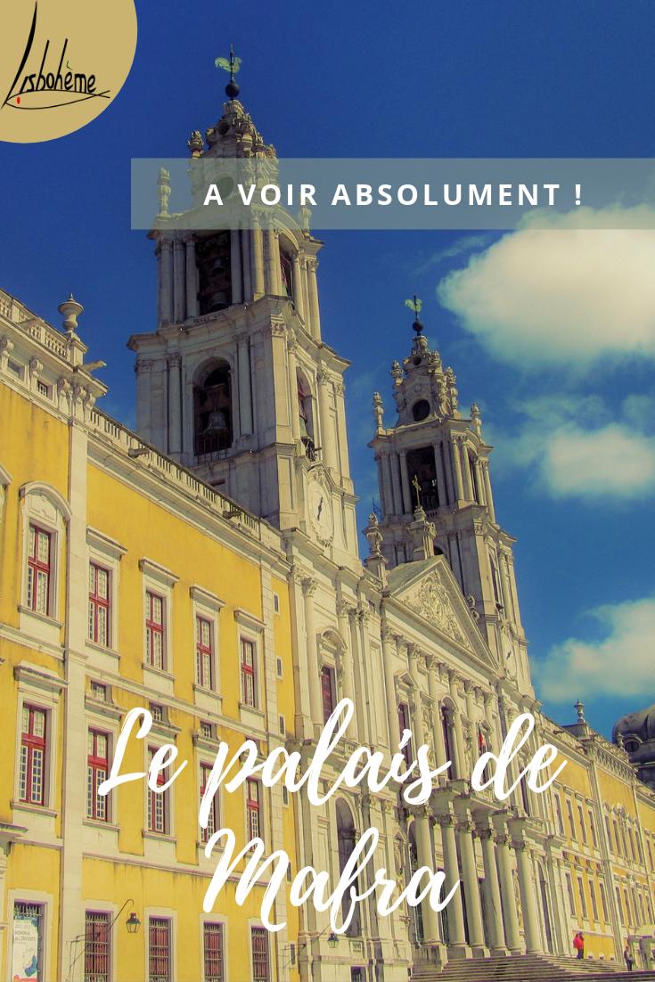 Le Palais de Mafra, à 1H de Lisbonne