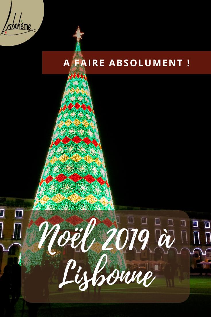 Epingle pinterest noël 2019 à Lisbonne