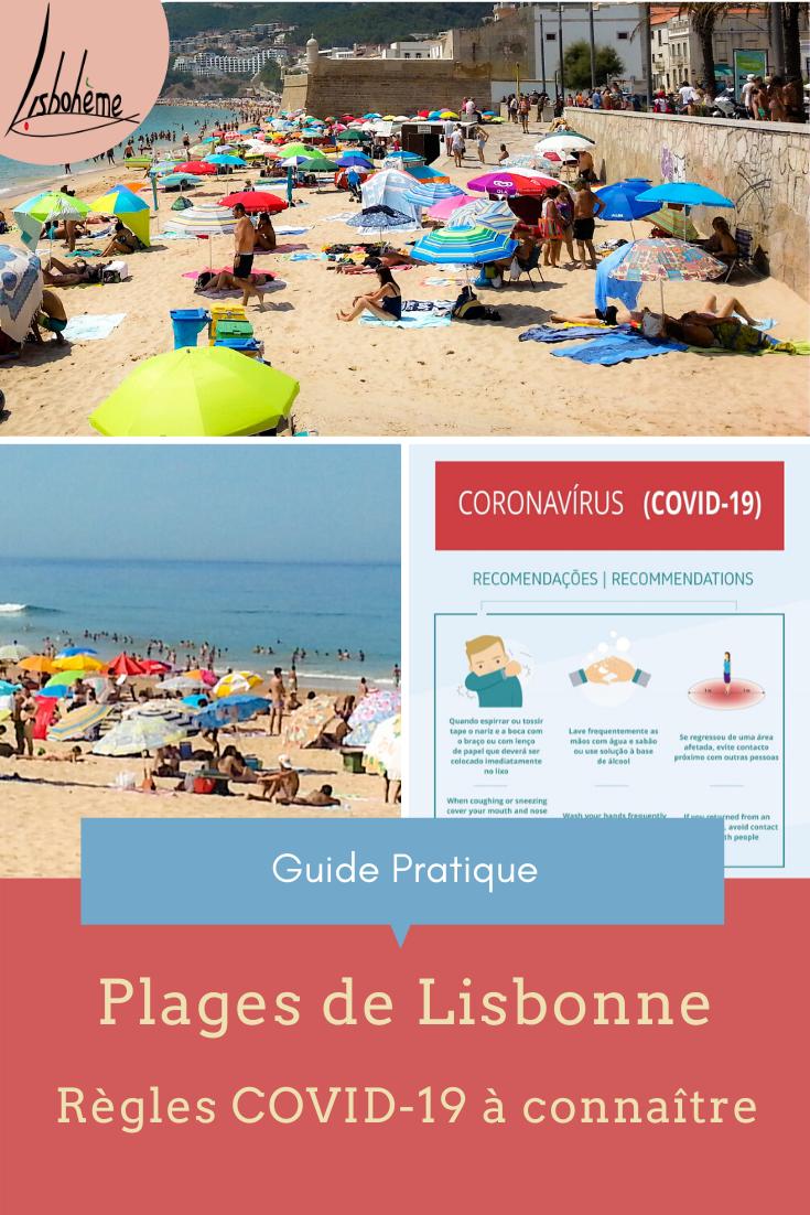 Epingle pinterest Plages Lisbonne et COVID-19