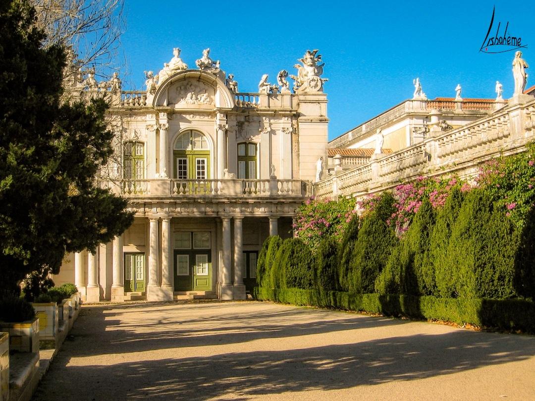 Aile Robillon, Palais de Queluz à Sintra, près de Lisbonne, Portugal