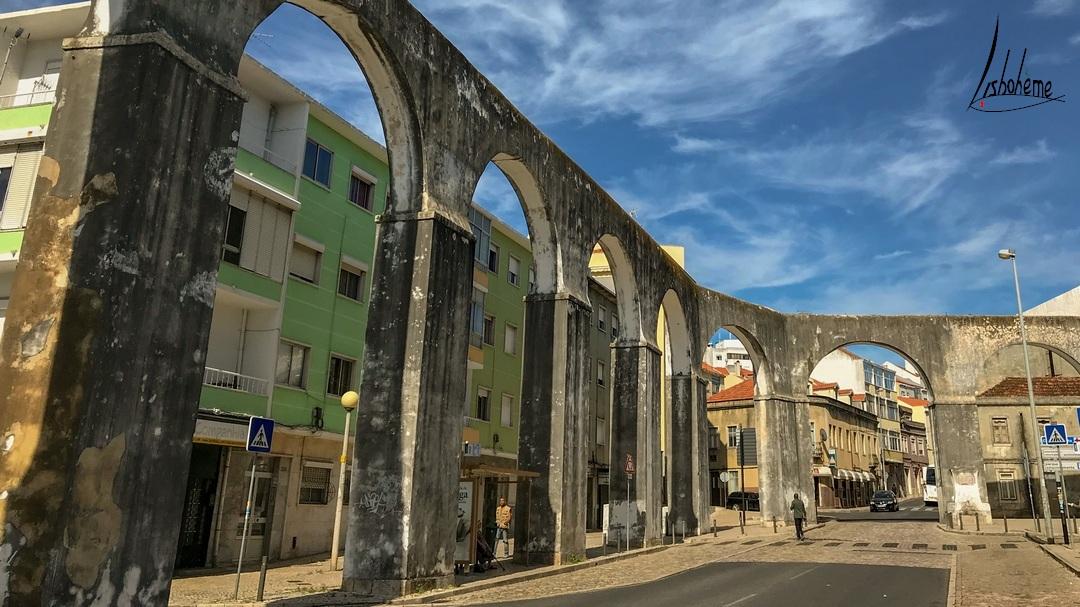 Aqueduc de la Gargantada, Queluz près de Lisbonne, Portugal