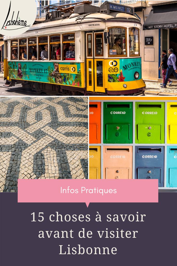 15 infos utiles à connaître avant de visiter Lisbonne