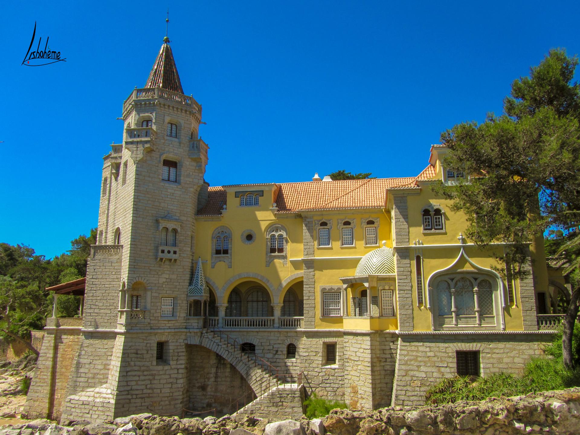 Palais des Condes de Castro Guimarães, Cascais, région de Lisbonne, Portugal