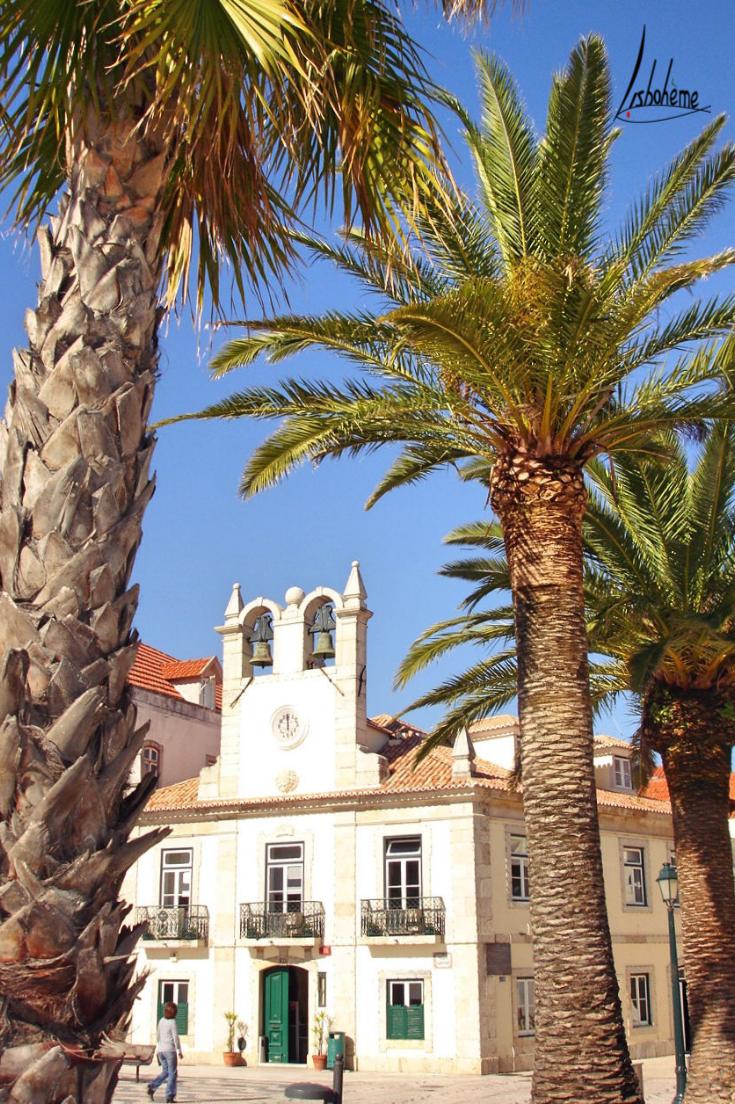 Eglise Cascais, région de Lisbonne, Portugal