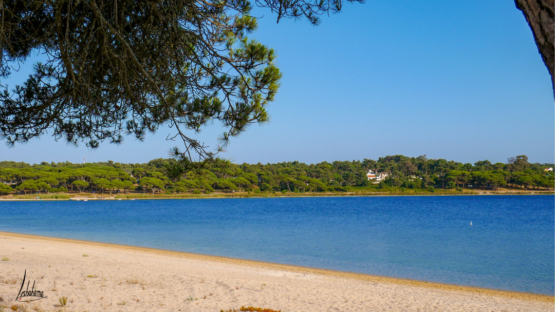 Randonnée Fonte da Telha, Lagune de Albufeira, Costa de Caparica, région de Lisbonne, Portugal