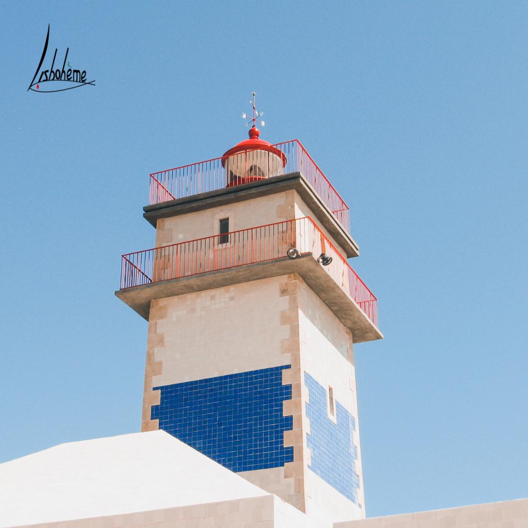 Détail phare de Cascais, région de Lisbonne, Portugal